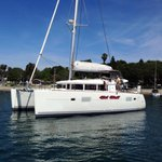 Experience pure luxury and comfort onboard this Lagoon 400 S2