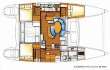 thumbnail-15 Lagoon 40.0 feet, boat for rent in True Blue, GD