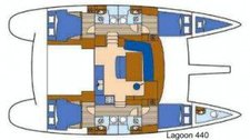 thumbnail-14 Lagoon 44.0 feet, boat for rent in True Blue, GD