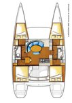thumbnail-11 Lagoon-Bénéteau 37.0 feet, boat for rent in Campania, IT