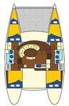thumbnail-19 Lagoon-Bénéteau 37.0 feet, boat for rent in Saronic Gulf, GR