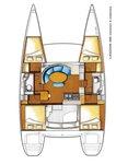 thumbnail-18 Lagoon-Bénéteau 37.0 feet, boat for rent in Saronic Gulf, GR