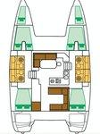 thumbnail-2 Lagoon-Bénéteau 39.0 feet, boat for rent in Zadar region, HR