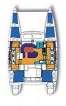 thumbnail-1 Lagoon-Bénéteau 40.0 feet, boat for rent in Split region, HR