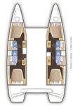 thumbnail-11 Lagoon-Bénéteau 41.0 feet, boat for rent in Saronic Gulf, GR