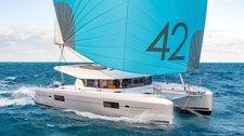 thumbnail-1 Lagoon-Bénéteau 41.0 feet, boat for rent in Saronic Gulf, GR