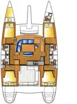 thumbnail-2 Lagoon-Bénéteau 44.0 feet, boat for rent in Split region, HR