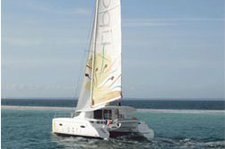 Explore Bas du Fort onboard this splendid sailing catamaran