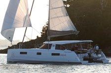 Experience pure comfort & luxury onboard 40' Nautitech open