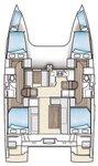 thumbnail-5 Nautitech Rochefort 39.0 feet, boat for rent in Zadar region, HR