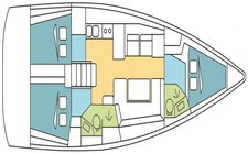 thumbnail-4 Oceanis 40.77 feet, boat for rent in Abaco, BS