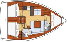 thumbnail-5 Oceanis 40.61 feet, boat for rent in Le Marin, MQ