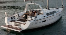 Charter 41' cruising monohull in Bas du Fort, Guadeloupe
