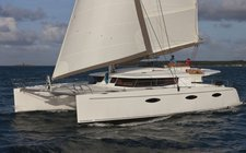 Indulge in the luxury in Grenada onboard this sleek catamaran