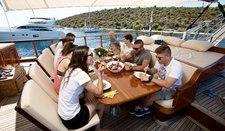 thumbnail-40 Yener Yachts 88.0 feet, boat for rent in Split region, HR
