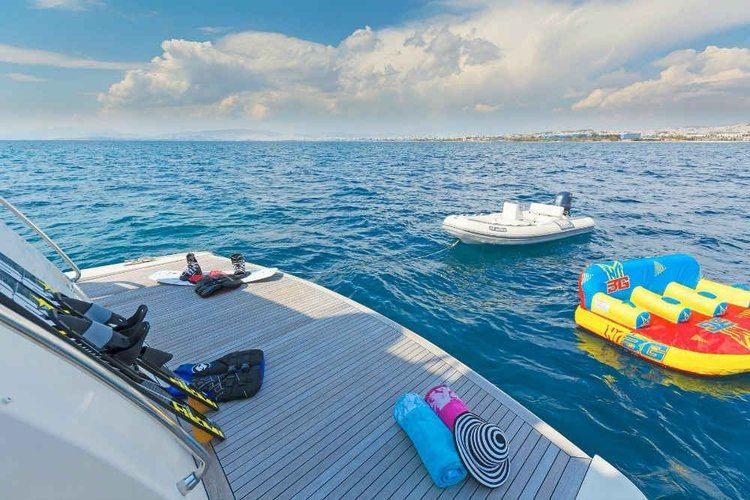 Discover Thessaloniki surroundings on this Custom Alalunga boat