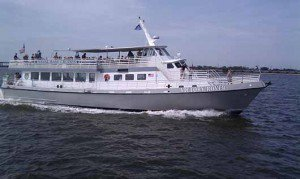 Up to 149 persons can enjoy a ride on this Motor yacht boat