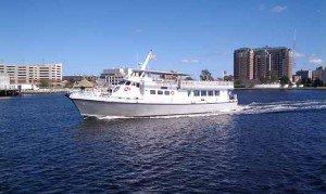 Motor yacht boat for rent in Norfolk