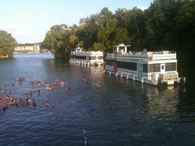 Catamaran boat rental in Austin, TX