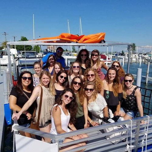 Motor yacht boat rental in Detroit, MI