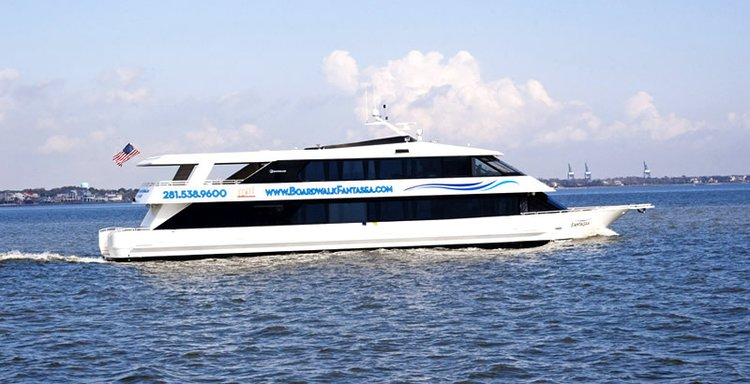 Cruise Texas onboard this splendid party vessel