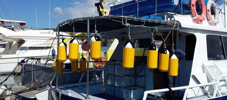 Motor yacht boat rental in Las Palmas, Spain
