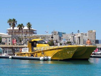 Explore Bermuda onboard this superb trimaran