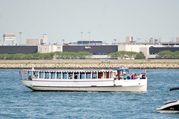 Charter this elegant 65' riverboat in Boston, Massachusetts