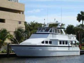 Up to 45 persons can enjoy a ride on this Motor yacht boat
