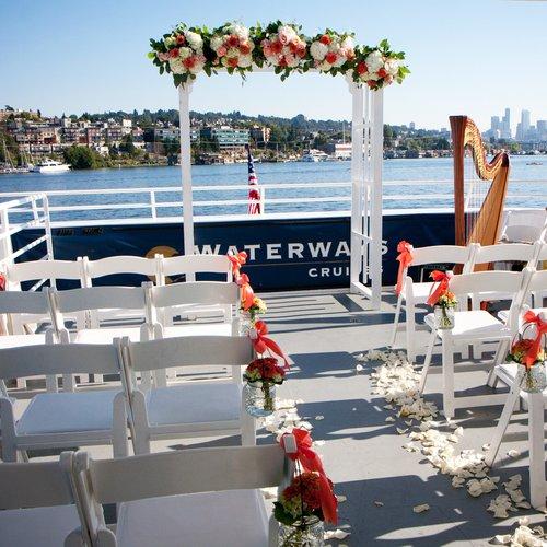 Mega yacht boat rental in Seattle, WA