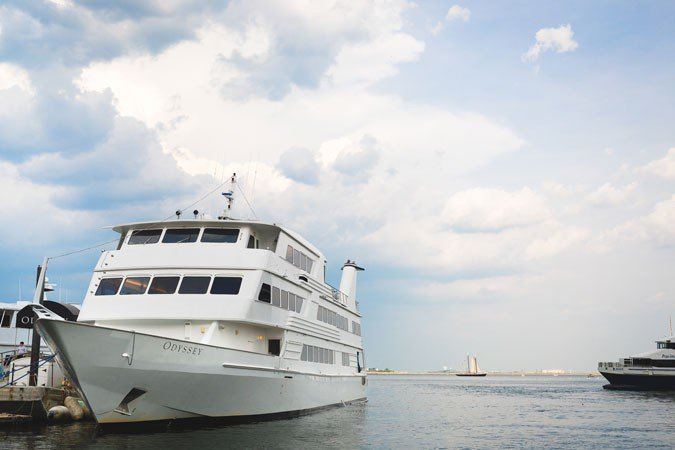 This Mega Yacht is perfect for all types of events!