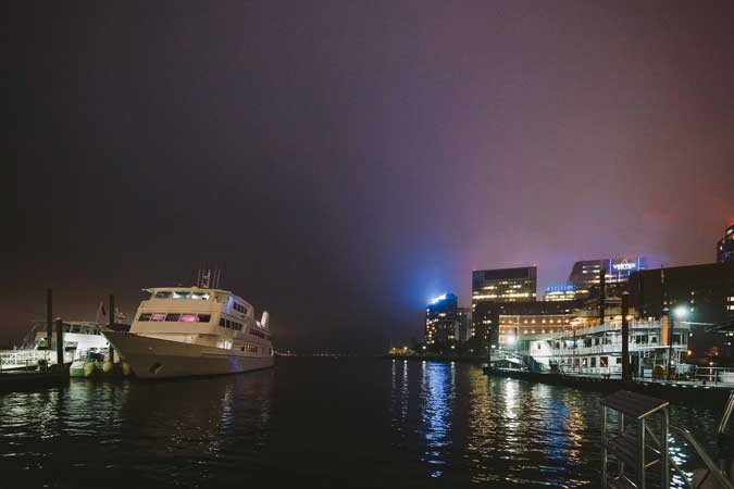 Mega yacht boat rental in Boston, MA
