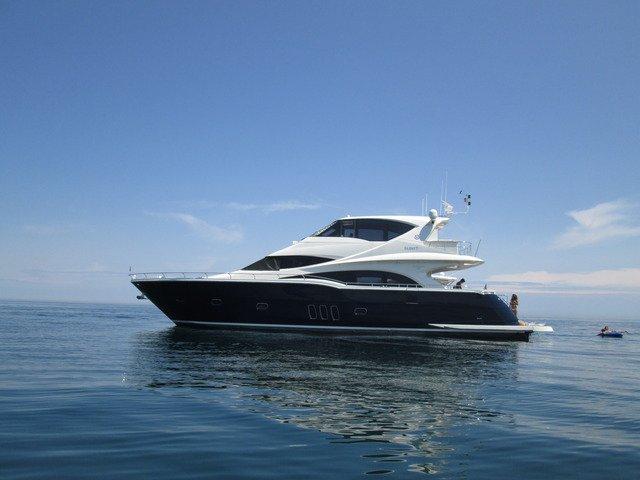 Motor yacht boat rental in Rocky River, OH