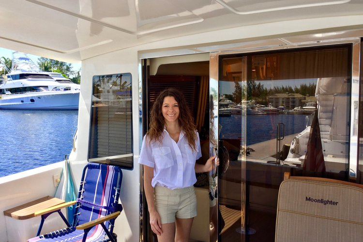 Flybridge boat for rent in Fort Lauderdale
