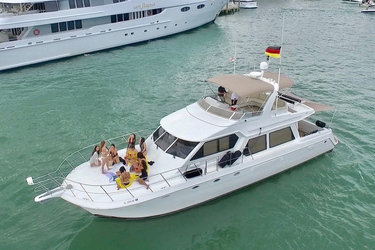 Flybridge boat rental in Marina Bay Marina, FL