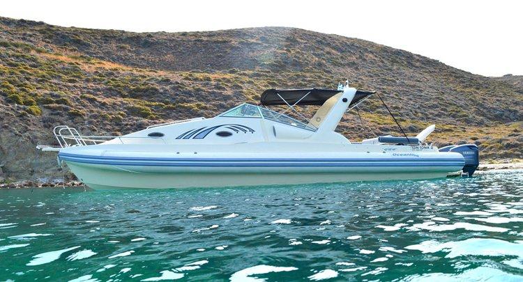 Rent a 37' Oceanic Alegria in Lavrio, Greece
