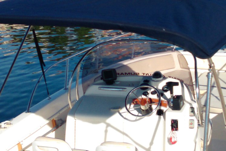 Center console boat for rent in Sumartin