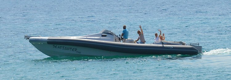 Boat for rent Seafighter One 35.6 feet in Lavrio, Greece