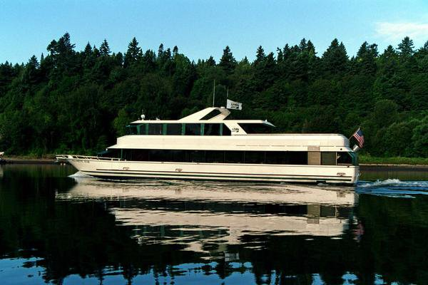 Up to 144 persons can enjoy a ride on this Motor yacht boat