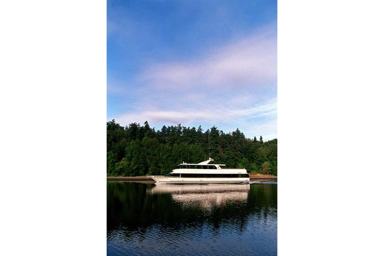 This 98.0' Skipperliner cand take up to 144 passengers around Portland