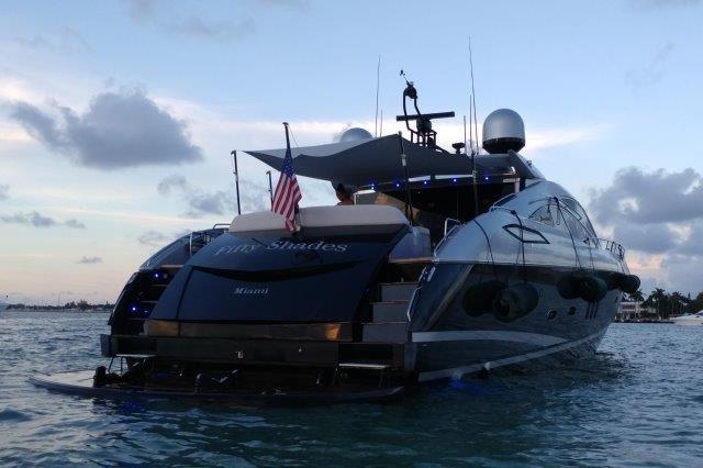 Sleek 85' Sunseeker Predator! Miami Beach