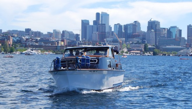 Mega yacht boat rental in Seattle, WA