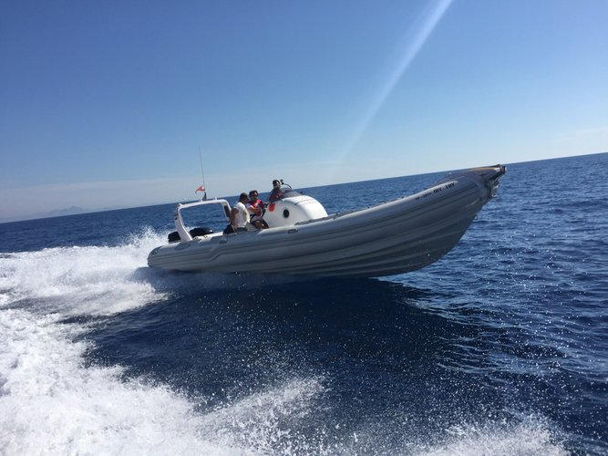 Have fun in Greece onboard 31' stylish rigid inflatable boat