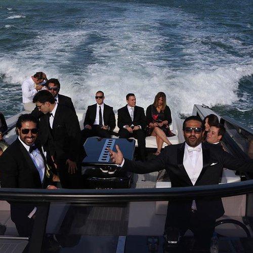 Discover Miami Beach surroundings on this VanDutch 55 VanDutch boat