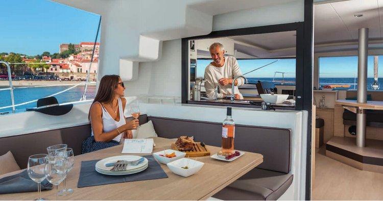 Catamaran boat rental in Santa Cruz De Tenerife, Spain