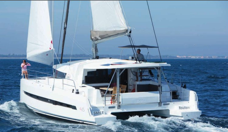 Enjoy cruising in Spain onboar Bali 4.5