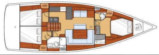 Discover Santa Cruz De Tenerife surroundings on this Oceanis 48 Beneteau boat