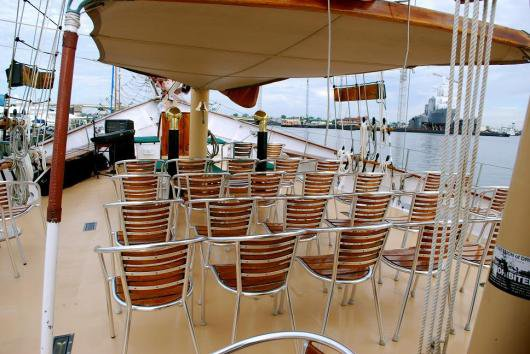 Boating is fun with a Schooner in Norfolk