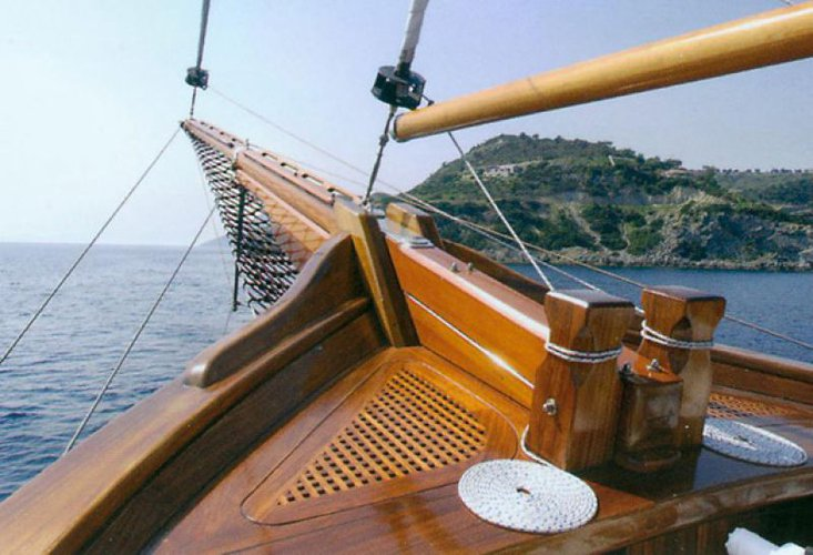 Boating is fun with a Schooner in Thessaloniki