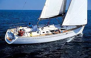 Enjoy sailing in Spain onboard a beautiful Sun Odyssey 42 cruising monohull